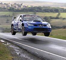 Stephen Simpson/Patrick Walsh - Subaru Impreza WRC - Mewla Rally 2011 by MSport-Images