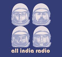 All India Radio Spacemen Womens Fitted T-Shirt