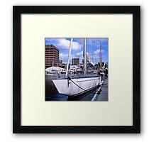 Gretel II—2011 Australian Wooden Boat Festival Framed Print