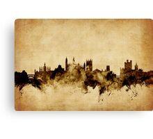 Cambridge England Skyline Canvas Print