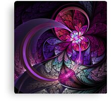 Fly - Abstract Fractal Artwork Canvas Print