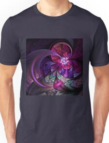 Fly - Abstract Fractal Artwork Unisex T-Shirt