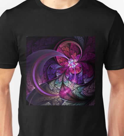 Fly - Abstract Fractal Artwork Unisex T-Shirt