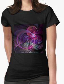 Fly - Abstract Fractal Artwork Womens Fitted T-Shirt