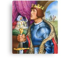 The young king Canvas Print