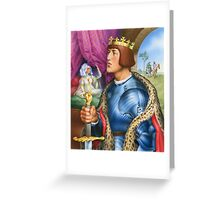 The young king Greeting Card