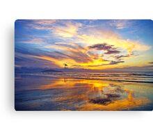 On Mirror Beach Canvas Print
