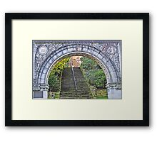 Anniversary Arch Framed Print