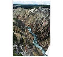Yellowstone River Canyon Poster