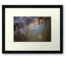 Rho Ophiuchi wide-field Framed Print