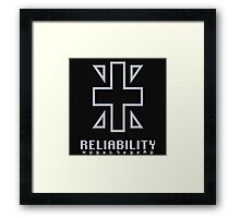 Digimon - Crest of Reliability Framed Print