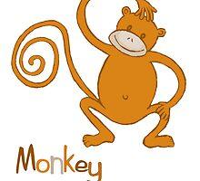 Monkey by Sharon E Sørensen