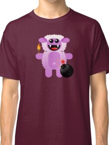 SHEEP 4 (Cute pet has a bomb and its alight!) Classic T-Shirt
