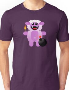 SHEEP 4 (Cute pet has a bomb and its alight!) Unisex T-Shirt