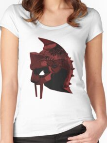 Full Metal Gladiator- Gladiator Shirt Women's Fitted Scoop T-Shirt