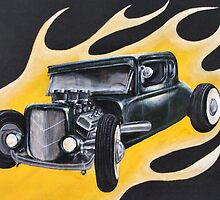 Hot Rod Flames by Lee Twigger