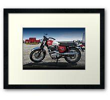 BSA Firebird Framed Print