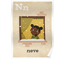 N is for Neve Poster