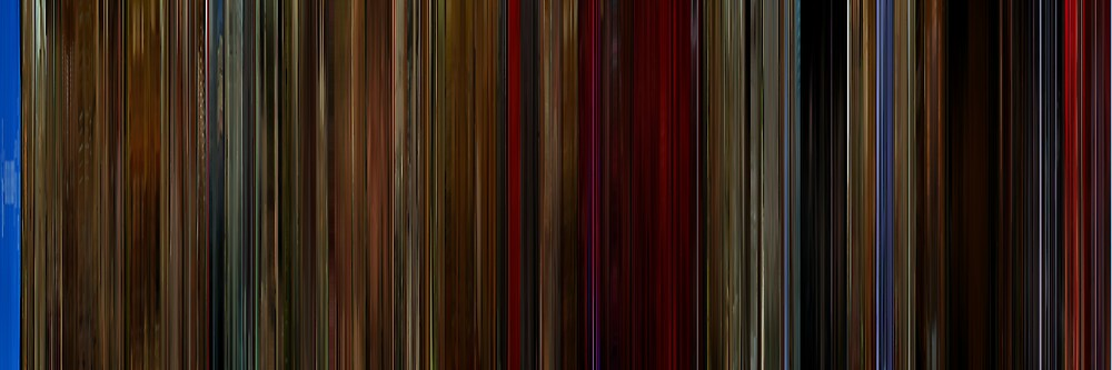 Moviebarcode: Twin Peaks Fire Walk with Me (1992) by moviebarcode