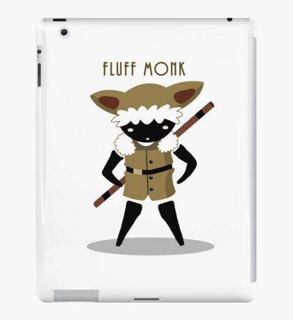 Fluff Monk iPad Case/Skin