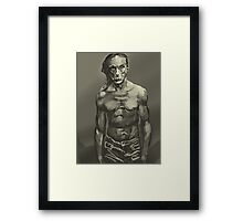 Iggy Pop Framed Print