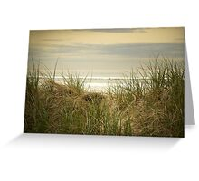 Over the Dune Greeting Card