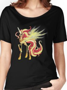My Little Pony - MLP - Sunset Shimmer Alicorn Women's Relaxed Fit T-Shirt
