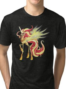 My Little Pony - MLP - Sunset Shimmer Alicorn Tri-blend T-Shirt