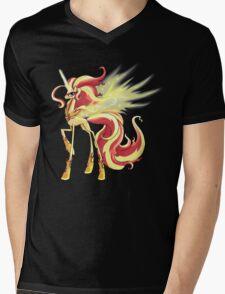 My Little Pony - MLP - Sunset Shimmer Alicorn Mens V-Neck T-Shirt