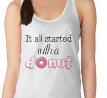 It All Started with a Donut Women's Tank Top