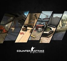 CS:GO MAP POSTER by dhax