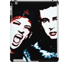 TJ + JD Painting - Black Background iPad Case/Skin
