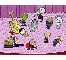 Merry Christmas Doctor Who ... Peanuts Style Photographic Print