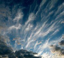 evening sky by SUBI
