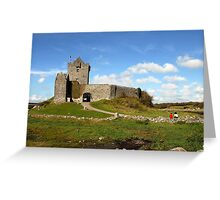 Dunguaire Castle, Kinvara, Ireland. Greeting Card