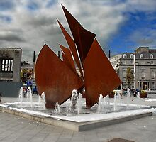 Eyre Square, Galway City, Ireland by JoeTravers