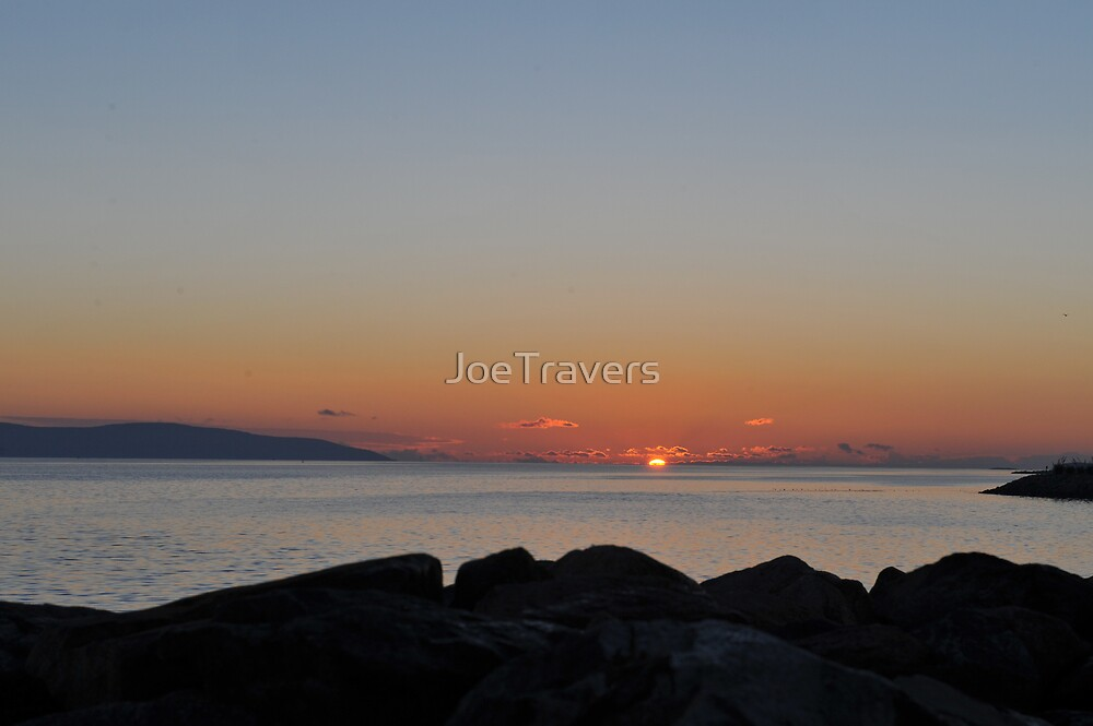 Sunrise over Galway Bay, Ireland. by JoeTravers