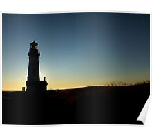Yaquina Head Lighthouse ~ Part Two Poster