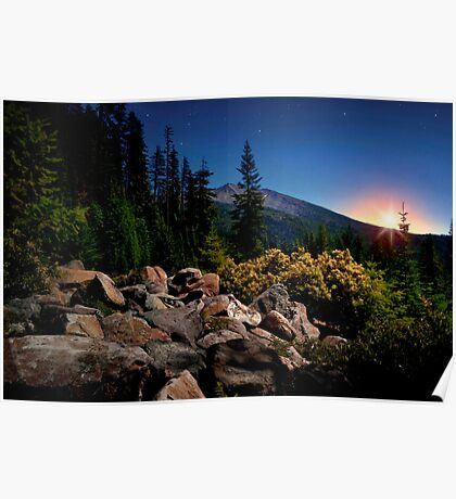The High Cascades ~ Diamond Peak ~ Poster