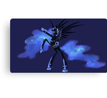 My Little Pony - MLP - FNAF - Nightmare Moon Animatronic Canvas Print