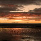 Sunrise over Galway Bay, Ireland. by JoeTravers