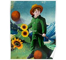 Vincent, the Sunflowers Poster