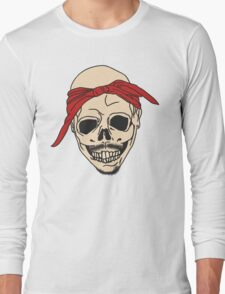 Tupac Skull Long Sleeve T-Shirt