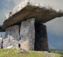 Dolmen, County Clare, Ireland. by JoeTravers