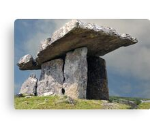 Dolmen, County Clare, Ireland. Canvas Print