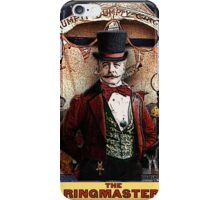 The Ringmaster: Circus Tarot by Duck Soup Productions iPhone Case/Skin