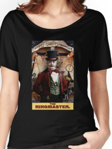 The Ringmaster: Circus Tarot by Duck Soup Productions Women's Relaxed Fit T-Shirt