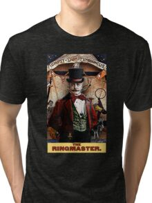 The Ringmaster: Circus Tarot by Duck Soup Productions Tri-blend T-Shirt