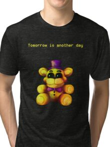 Five Nights at Freddy's - FNaF 4 - Tomorrow is Another Day Tri-blend T-Shirt