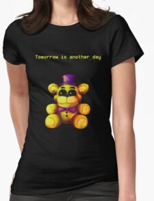 Five Nights at Freddy's - FNaF 4 - Tomorrow is Another Day Womens Fitted T-Shirt